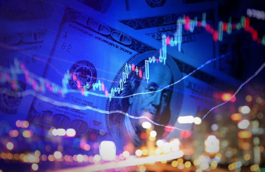 Illustrasjon aksjemarked
