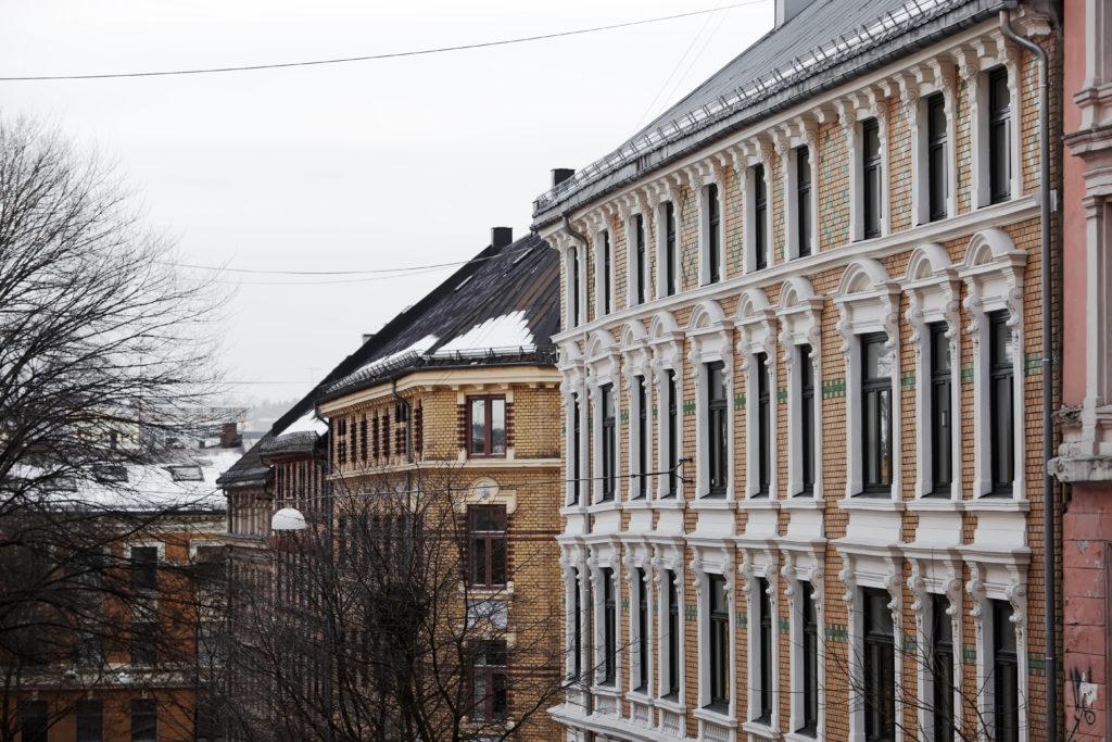 Illustrasjonsbilde av leiligheter