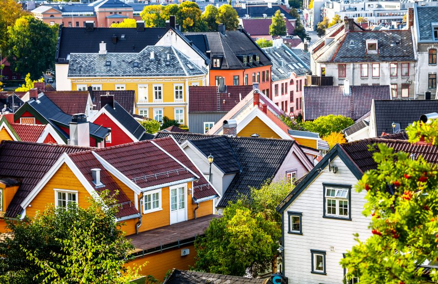 Bebyggelse i Trondheim